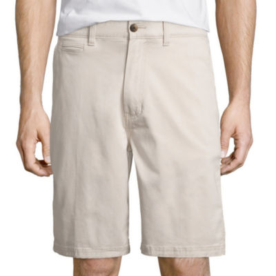St. John's Bay® Stretch Chino Short