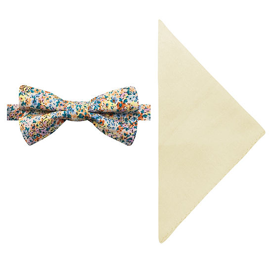 Stafford Floral Bow Tie Set