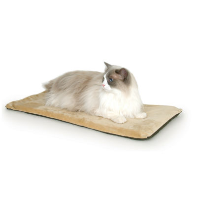 "K & H Manufacturing Thermo-Kitty Mat, 12.5"" x 25"" x 0.5"", 6 Watts"