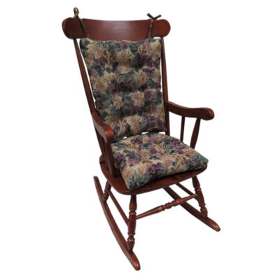 Klear Vu Cabernet Jumbo Universal Rocking Chair Cushions
