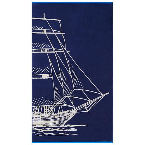 "Softesse Sail 40""x72"" Beach Towel"