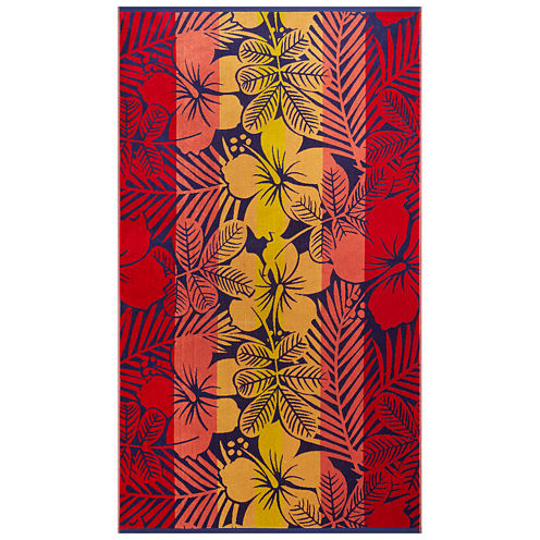 "Softesse™ Hibiscus 40""x72"" Beach Towel"