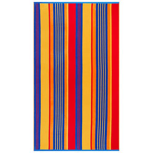 """Softesse™ Multi Stripe 40""""x72"""" Beach Towel"""