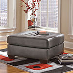 Signature Design by Ashley® Alliston Faux Leather Ottoman