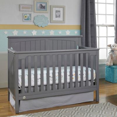 Fisher Price Colton Convertible Crib - Grey