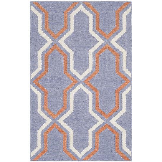 Safavieh Wight Hand Woven Flat Weave Area Rug