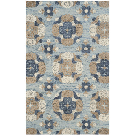 Safavieh Malcolm Hand Tufted Area Rug, One Size , Blue at RugsBySize.com