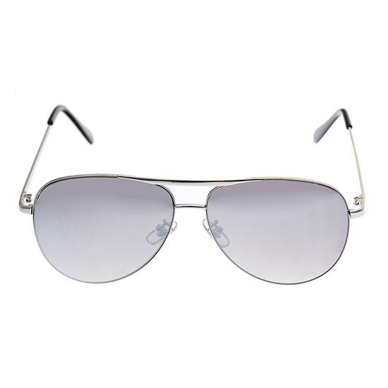 Arizona Mens Full Frame Aviator Sunglasses