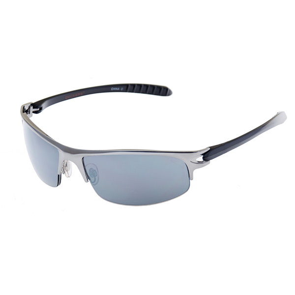 Dockers Full Frame Rectangular UV Protection Sunglasses-Mens