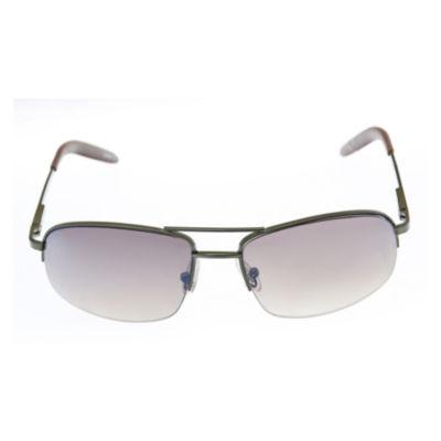 Dockers Full Frame Rectangular UV Protection Sunglasses-Mens