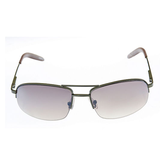 Dockers Mens Full Frame Rectangular Sunglasses