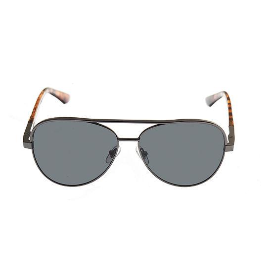 fbba3c376e71b Dockers Mens Full Frame Aviator Sunglasses - JCPenney