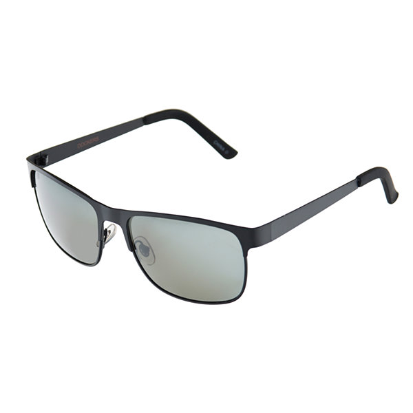 Dockers Full Frame Rectangular Polarized UV Protection Sunglasses-Mens