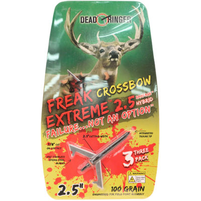 Dead Ringer Broadheads - Freak Extreme- 100 Grains