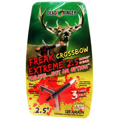 Dead Ringer Broadheads - Freak Extreme- 125 Grains