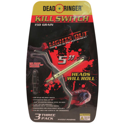 Dead Ringer Broadheads - Kill Switch- 150 Grains