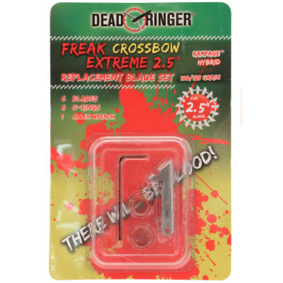 Dead Ringer Replacement Blades - Freak Extreme - 100/125 Grains