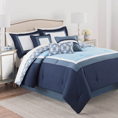 Martex Luxury Cartsen 7-pc. Comforter Set