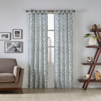 Pairs To Go Tiago 2-Pack Tab-Top Curtain Panel