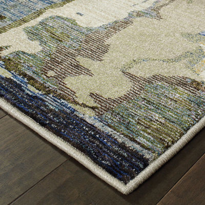 Covington Home Ember Pintura Rectangular Rugs