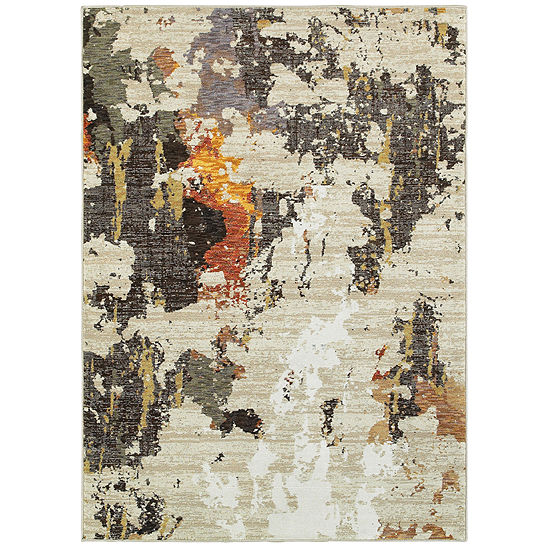 Covington Home Ember Marble Rectangular Indoor Rugs