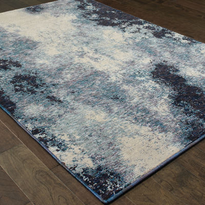 Covington Home Ember Azul Rectangular Rugs