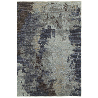 Covington Home Ember Minuit Rectangular Indoor Accent Rug