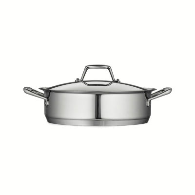 Tramontina Gourmet Stainless Steel 3.qt. Covered Dutch Oven