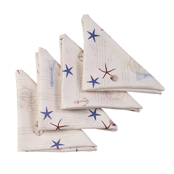 Avanti Antigua Set of 4 Napkins