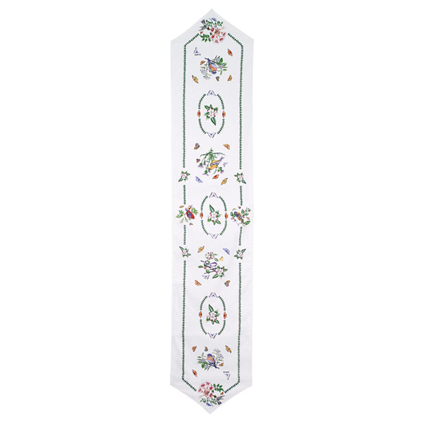 Avanti Botanic Birds Table Runner