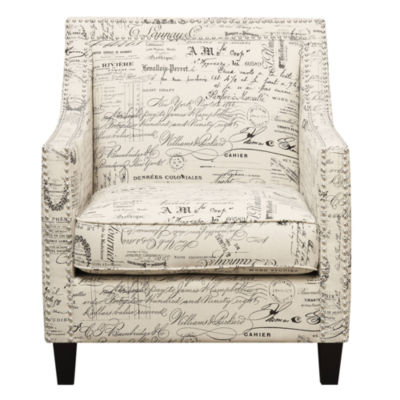 Picket House Furnishings Emery French Script Chair