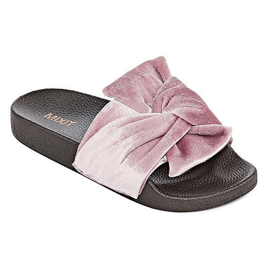 4403f0956d7e2 Mixit Womens Slide Sandals JCPenney