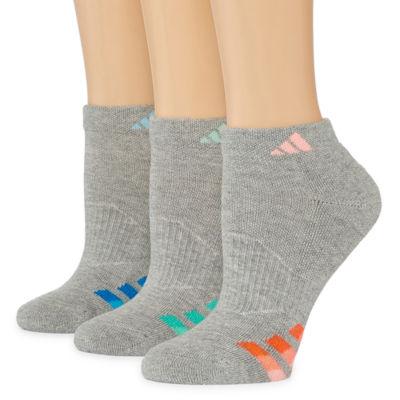 adidas 3 Pair Low Cut Socks - Womens