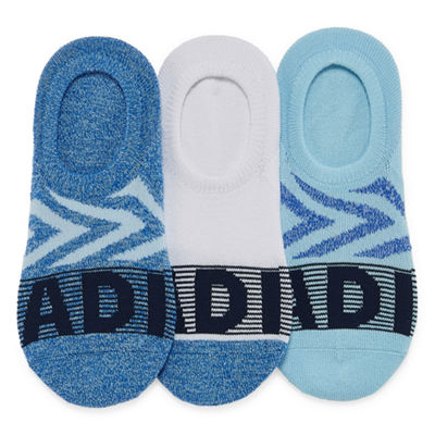 adidas 3 Pair Super No Show Socks - Womens