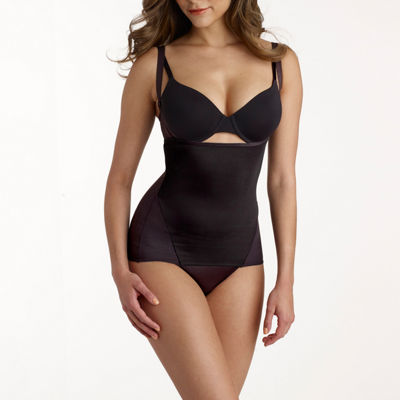 Naomi And Nicole Cool And Comfortable Wonderful Edge® Open-Bust Torsette Firm Control Shapewear Camisole-7421