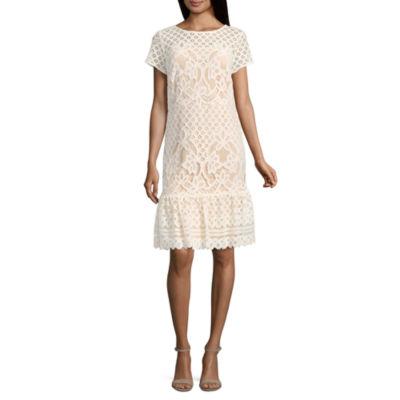 Luxology Short Sleeve Sheath Dress