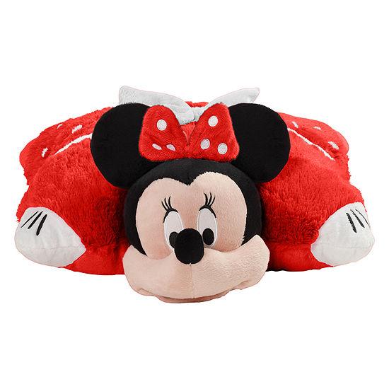 Pillow Pets Disney Jumboz Minnie Mouse Oversized Stuffed Animal Plush Toy