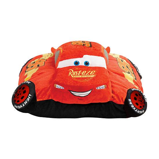 Pillow Pets Disney Cars Lightning Mcqueen  Stuffed Animal Plush Toy