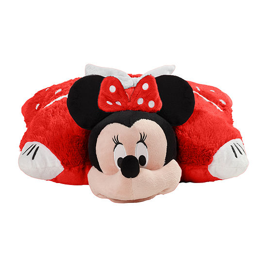 Pillow Pets Disney Rockin The Dots Minnie Mouse Stuffed Animal Plush Toy