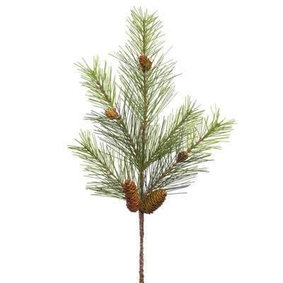 Vickerman White Pine Artificial Christmas Spray Unlit
