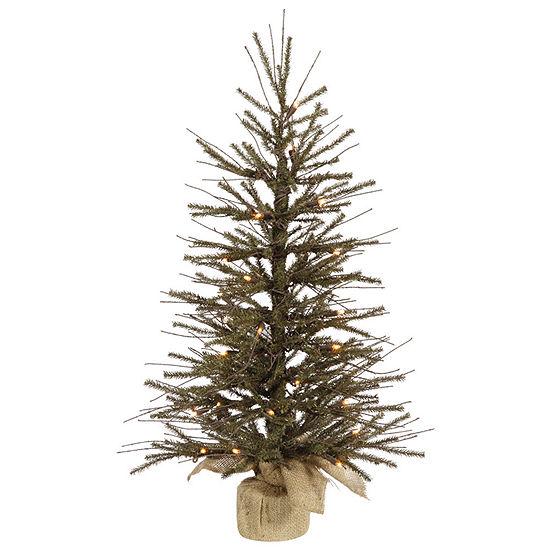 "Vickerman 30"" Vienna Twig Artificial Christmas Tree with 35 Lights"