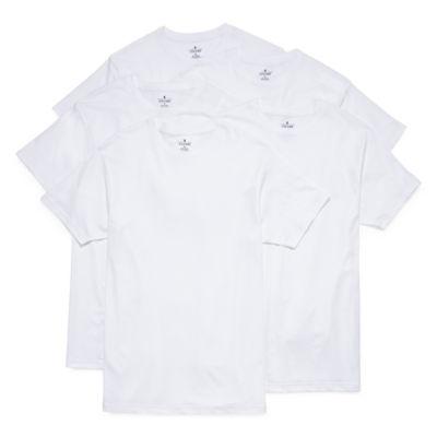Stafford Blended Cotton 4+1 Bonus Pack Crew T-Shirt