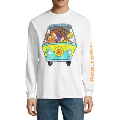Scooby Doo Van Long Sleeve Graphic Tee