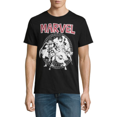 Avengers Group Seal Graphic Tee