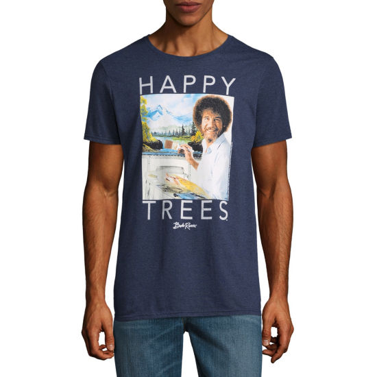 Bob Ross Happy Tree Graphic Tee