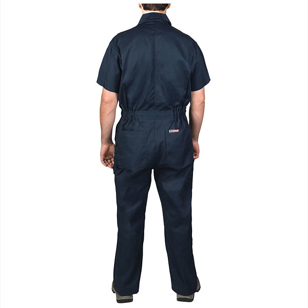 Walls Poplin Non-Insulated Short Sleeve Coverall - Big & Tall