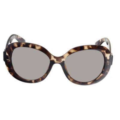 Riviera Full Frame Round UV Protection Sunglasses-Womens