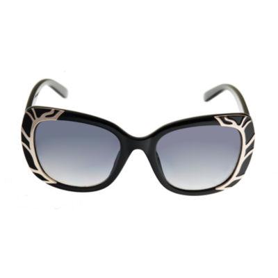 Riviera Full Frame Square UV Protection Sunglasses-Womens
