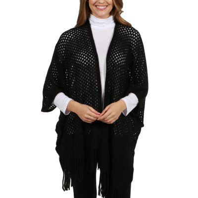 24/7 Comfort Apparel Sweater Knit Malibu Maternity Cardigan Shrug