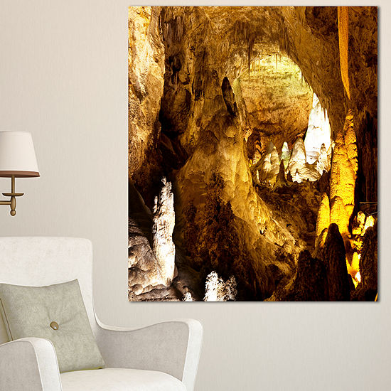 Designart Carlsbad Caverns National Park OversizedLandscape Canvas Art